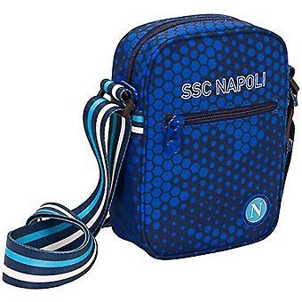 ssc napoli Square Shoulder Bag, Purse No Gender, Blue, M
