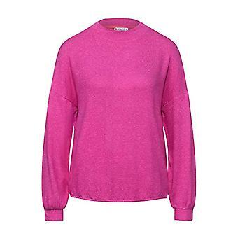 Street One 315813 T-Shirt, Phlox Pink Melange, 34 Woman