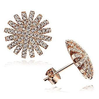 Goldmaid Silver Woman's Gold Earrings - Fo O6005SR