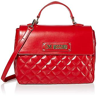 Love Moschino Bag Quilted Nappa Pu, Woman's Hand, Red (Red), 21x30x11 cm (W x H x L)