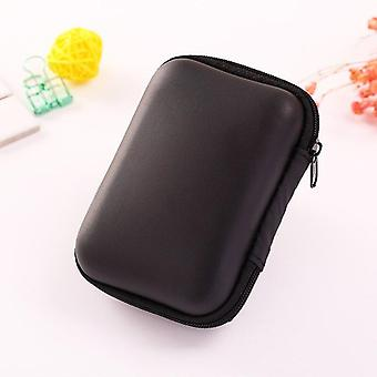 Fashion Mini Zipper Auricolare Cuffie Sd Card Bag