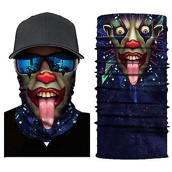 3Dデジタルプリント風防屋外サイクリングマスクとフェイスタオル