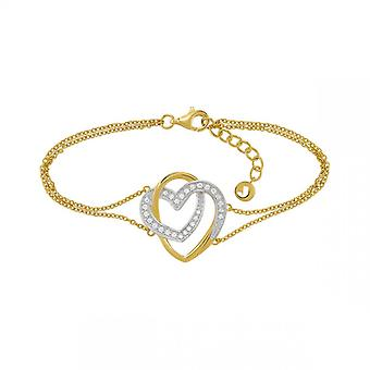 Bracelet Femme Jourdan AMK055 - ROXANE  - Argent Dor�