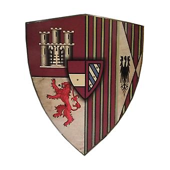 Wooden House Lannister of GOT Viking Curved Shield SWE84