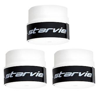 スターヴィー、3xオーバーグリップ - ホワイト