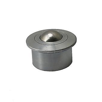 Für 45x31mm Kugel Metall Transferlager Einheit 140kg Last Carbon Stahlrollen WS818