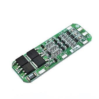 Li-ion lítium-batériová nabíjačka Pcb Bms Ochranná doska pre vŕtací motor