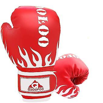 4Oz الأحمر 4oz و 6oz قفازات الملاكمة الاطفال dt6482