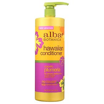 Alba Botanica Hawaiian Conditioner, Color Plumeria 32 Oz