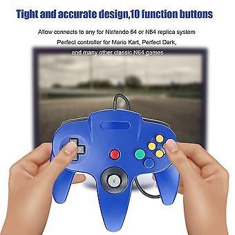 Game Controller Joystick für Nintendo 64 N64 System Deep Blue Pad für Mario Kart