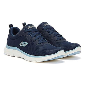 Skechers Flex Appeal 4.0 - Brilliant View Womens Navy Trainers