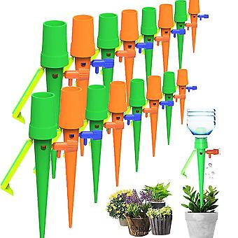 12 Pcs Automatic Drippers Potted Plants Adjustable Lazy Drip Watering System Kit