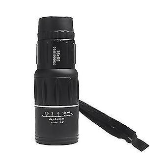 Монокуляры компактный зум спортивный монокулярный телескоп моно пятнистый прицел для путешествий поход кемпинг активный отдых черный