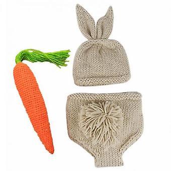 Rabbit Bunny Hats, Knitted Crochet Clothing