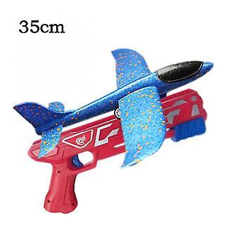 Pěnové letadlo Launcher Epp Bubble Airplanes Glider Ruční hod Katapult letadlo Hratá pro děti Katapultová děla Letadla Střílecí hra