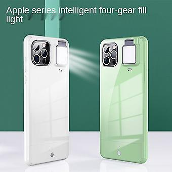 Suitable For Iphone 12promax Ring Flash Phone Case Beauty And Light Protection Cover