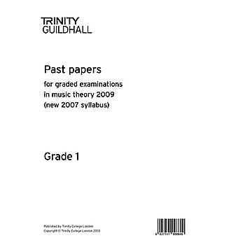 Trinity College London Past Papers: Theory of Music (2009) Gd 1