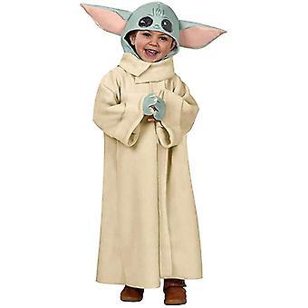 בייבי יודה תלבושות, מנדלורי כובע מעיל חלוק ילד, תחפושת קוספליי לילדים