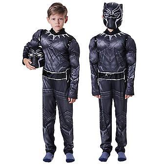 Black Panther Kostüm Superhelden Partykleid