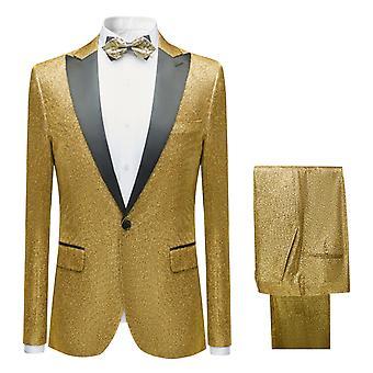 מייל Mens חליפות 2 חלקים רגיל סלים בכושר חתונה רשמי חליפה גברים בלייזר מעילים מכנסיים
