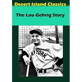 Lou Gehrig berättelse [DVD] USA import