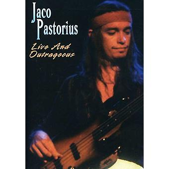 Jaco Pastorius - importación de Estados Unidos & escandalosa de vivir [DVD]