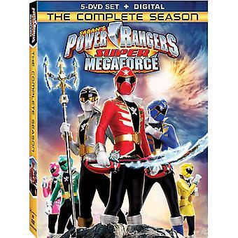 Power Rangers Super Megaforce: Die komplette Staffel [DVD] USA import