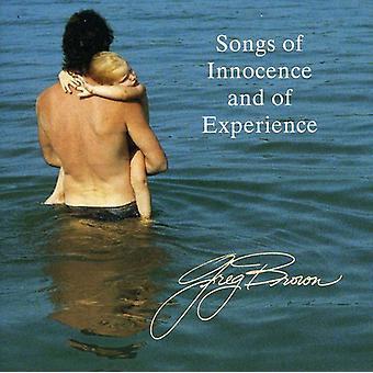 Greg Brown - Songs of Innocence & of Experi [CD] USA import