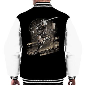 Nier Automata The Weight Of The World Men's Varsity Jacket