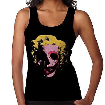 Marilyn Monroe Pop Art Skull Women's Vest