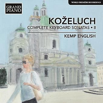 Kozeluch / English - Leopold Kozeluch: Complete Keyboard [CD] USA import