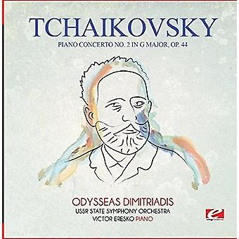 Tchaikovsky - Piano Concerto No. 2 in G Major Op. 44 [CD] USA import