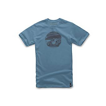 Alpinestars Issue Short Sleeve T-Shirt in Slate Blue