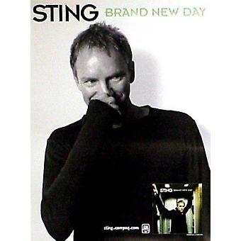 Sting Brand New Day Poster