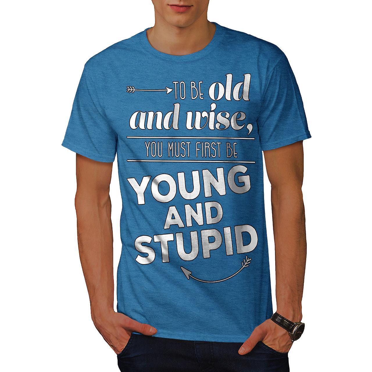 leben zitat junge lustige männer royal bluethemd