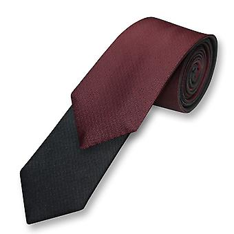 Biagio cravate cravate double solide et des hommes