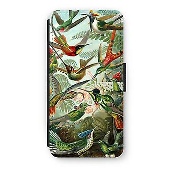 iPhone 8 Flip Case - Haeckel Trochilidae