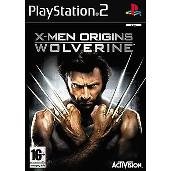 X-Men Origins Wolverine (PS2) - Usine scellée