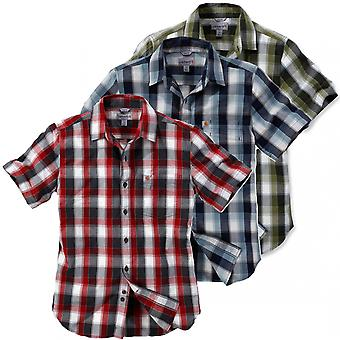 Carhartt men's short sleeve shirt Plaid slim fit 103010