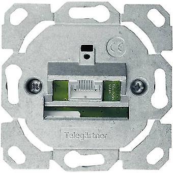 Telegärtner Network outlet Flush mount Insert CAT 6 1 port