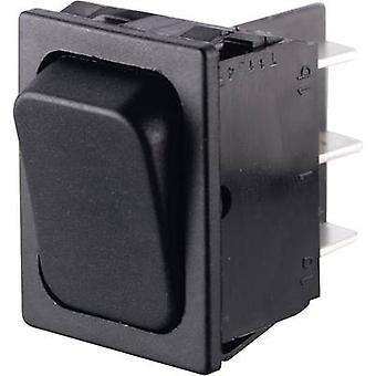 Marquardt Toggle switch 01834.3402-00 250 V AC 6 A 2 x On/(On) IP40 momentary 1 pc(s)