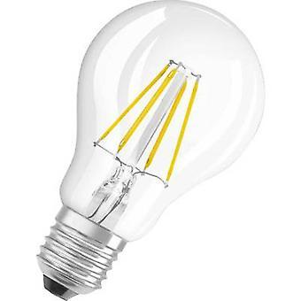LED OSRAM (monocromático) EEC A++ (A++ - E) E27 Arbitrário 4 W = 40 W Branco Quente (Ø x L) 60 mm x 105 mm Filament 1 pc(s)