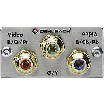 Oehlbach PRO IN MMT COMPONENT RCA component Multimedia inset + solder lugs