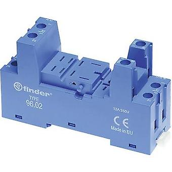 Finder 96.02 Relay socket Compatible with series: Finder 56 series 1 pc(s)