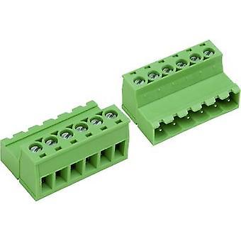Caja zócalo PTR - cable AK (Z) 950 número de espaciamiento de pernos 5 contacto: 5,08 mm 50950057028E 1 PC