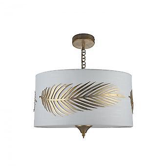 Maytoni belysning Farn House hänge, guld