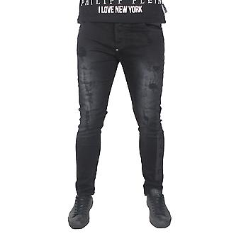 Philipp Plein MDT0415 Jorogumu 02ON Black Oni Jeans
