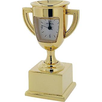 Gift Time Products Trophy Miniature Clock - Gold