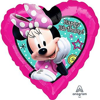 Anagram 18in Minnie Mouse Happy Helper Foil Balloon