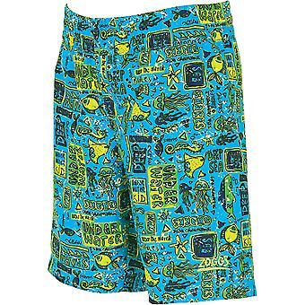 Natación Shorts Jade/Multi-Colour Zoggs Junior niño para niños de 6 a 15 años